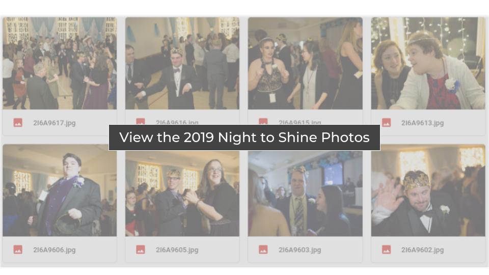 Night to Shine 2019 Photos